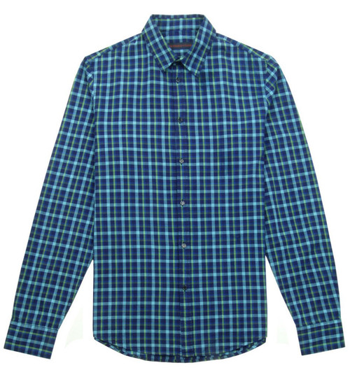 TRUSSARDI JEANS Casual Check Shirt