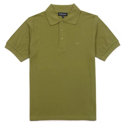 GIANMARCO VENTURI Polo Shirt Military Green