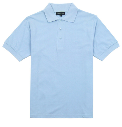 GIANMARCO VENTURI Polo Shirt Light Blue