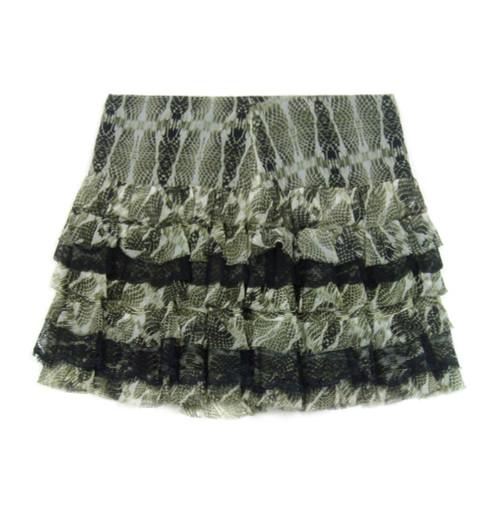 PINKO Silk Mini Skirt