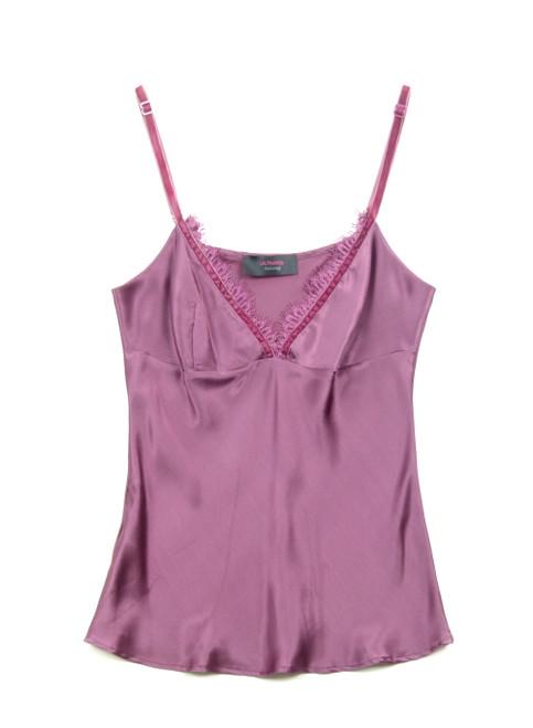 LALTRAMODA Silk Camisole Top