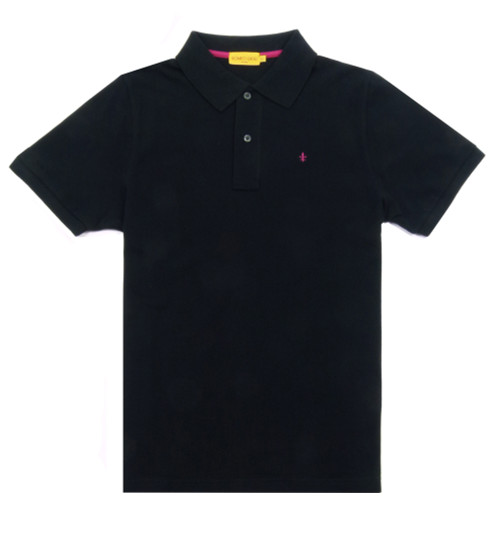 ROMEO GIGLI Men's Black Polo Shirt