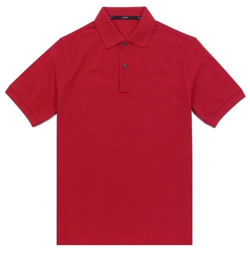 UNGARO Men's Red Polo Shirt