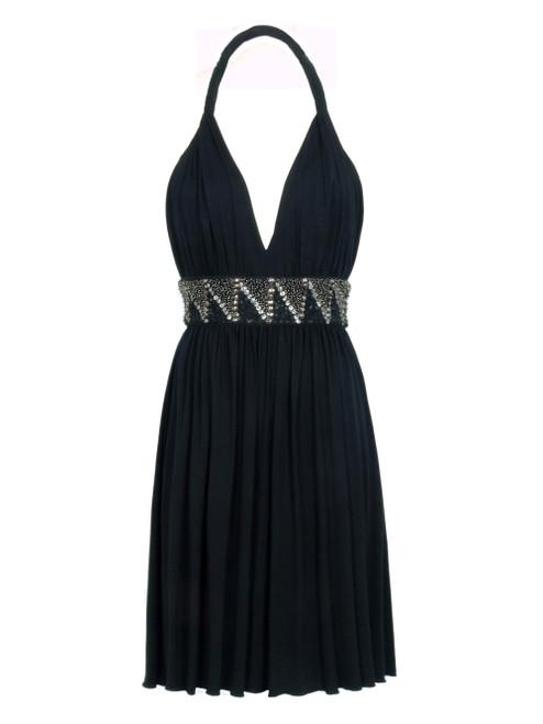 COMPAGNIA ITALIANA Black Sleeveless Dress