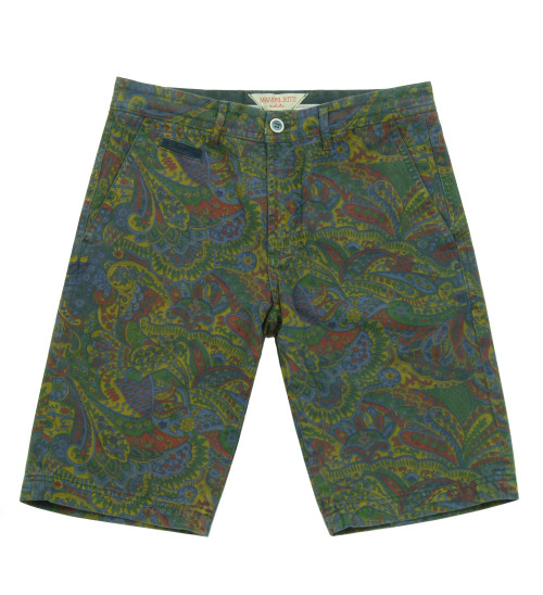 MANUEL RITZ Paisley Print Shorts