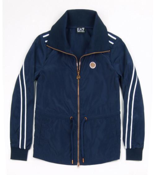 EMPORIO ARMANI Ladies Lightweight Jacket (Blue)