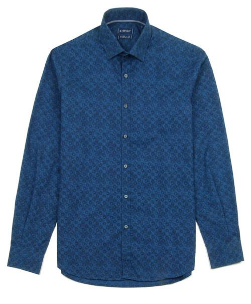 B STYLE Men's Patterned Shirt