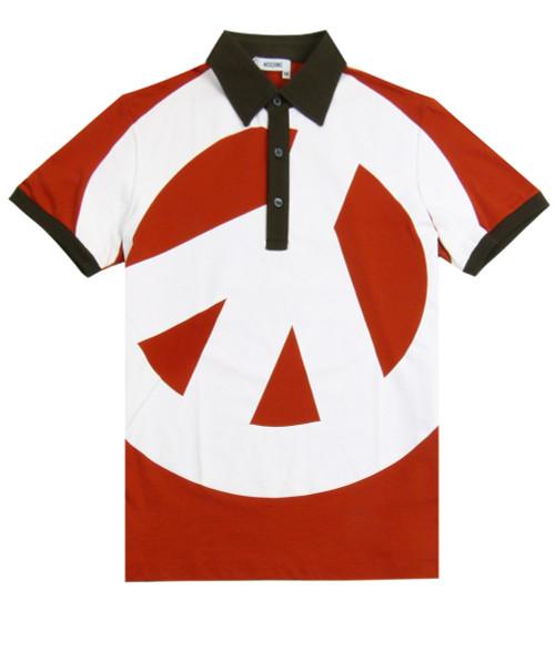 MOSCHINO Men's Embossed Polo Shirt