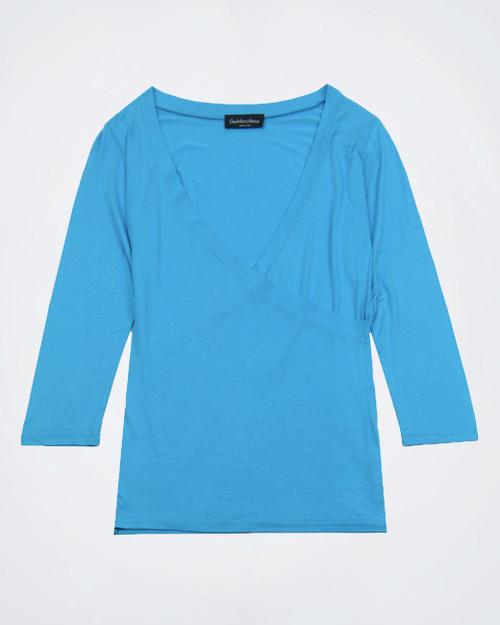 GIANMARCO VENTURI Light Blue Top