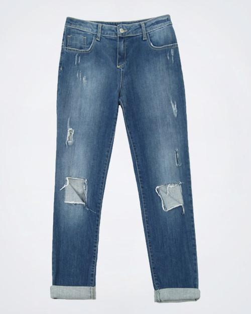 COMPAGNIA ITALIANA Ladies Faded Jeans