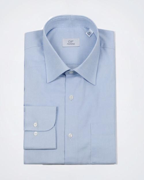 GF FERRE' Light Blue Dress Shirt