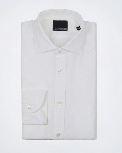 CARLO PIGNATELLI Off White Casual Shirt