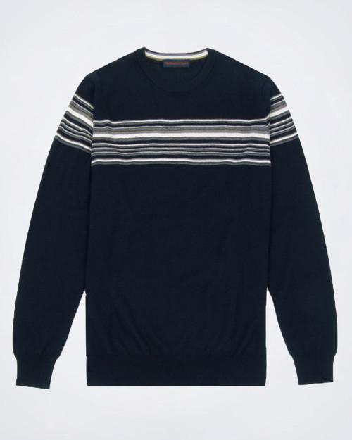 TRUSSARDI JEANS Men's Crew Neck Knit