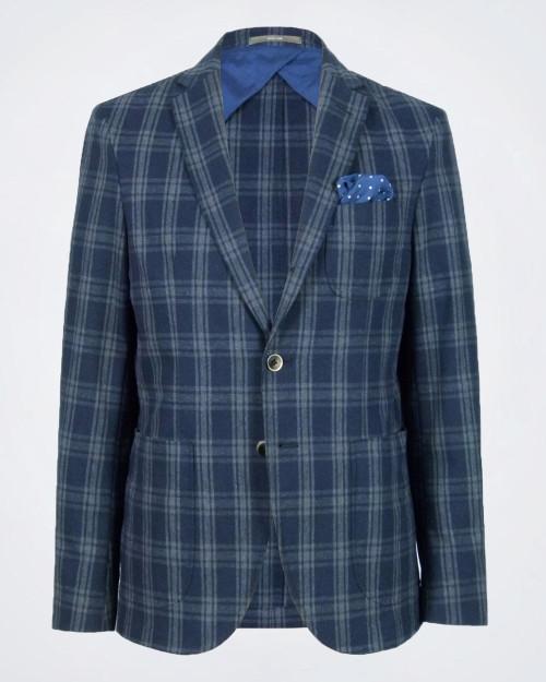 PAOLONI Cotton & Wool-Blend Jacket