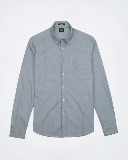 OFFICINA 36 Striped Cotton Shirt
