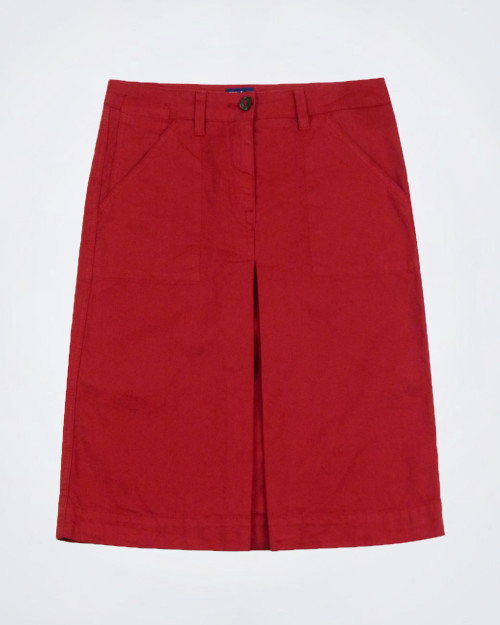 TRUSSARDI JEANS Red Casual Pencil Skirt