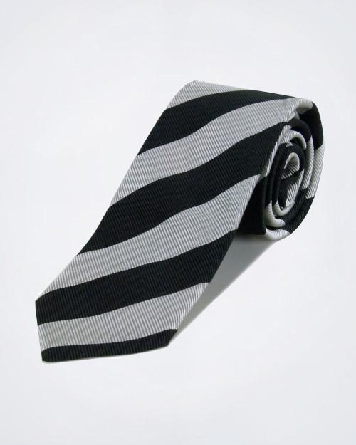 MONTENAPOLEONE Striped Silk Tie