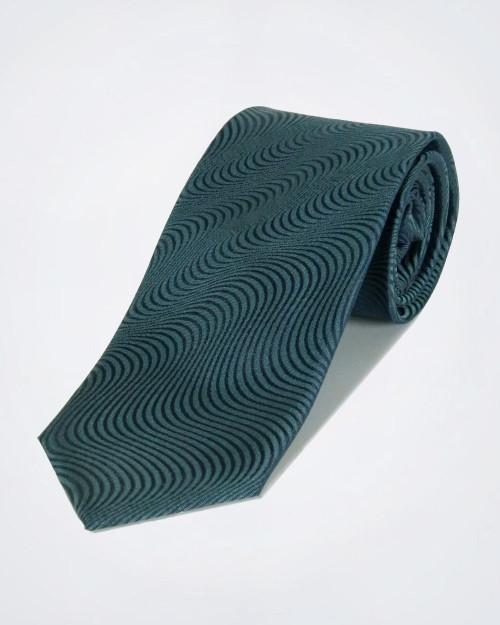 PAL ZILERI Wave Pattern Silk Tie