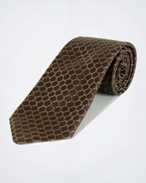 GIANFRANCO FERRE' Copper Coloured Silk Tie