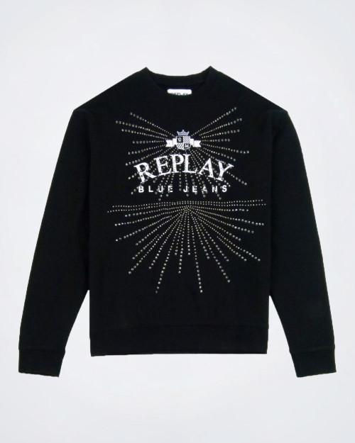 REPLAY Ladies Logo Sweater