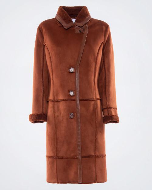 NENETTE Ladies Shearling Style Coat