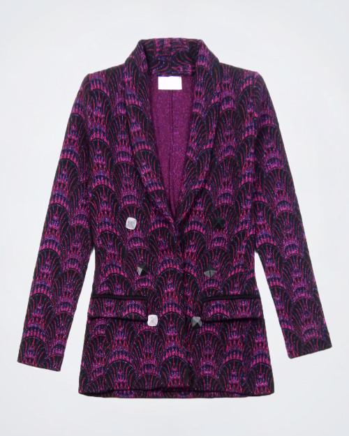 NENETTE Knitted Single Breasted Jacket