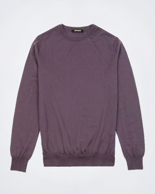 ROBERTO CAVALLI Pure Wool Musk Knit