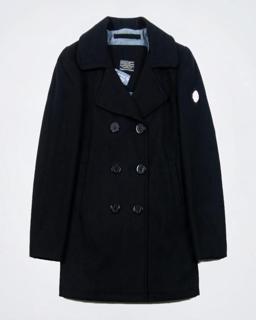 REPLAY Wool Blend Ladies Felt Coat