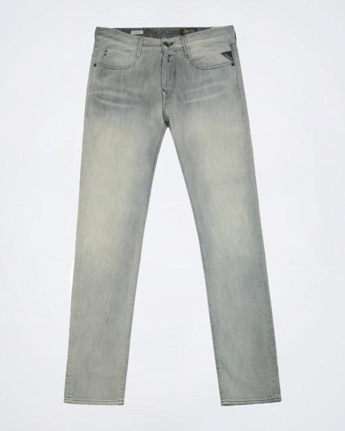 REPLAY Men's Grey Straight Leg Jeans