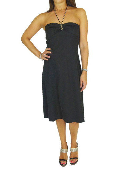 ALYSI Halter Neck Dress