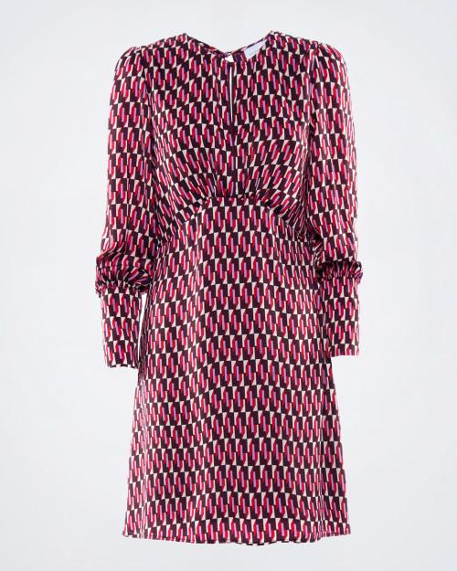 NENETTE Geometric Pattern Dress