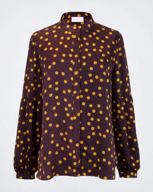 NENETTE Spotted Pattern Blouse
