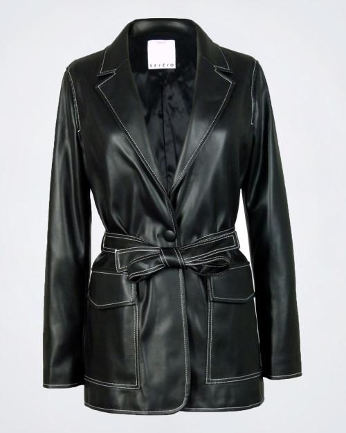 SFIZIO Eco-leather Ladies Jacket