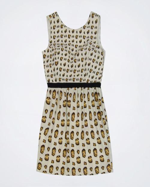 SANDRO FERRONE Patterned Sleeveless Dress