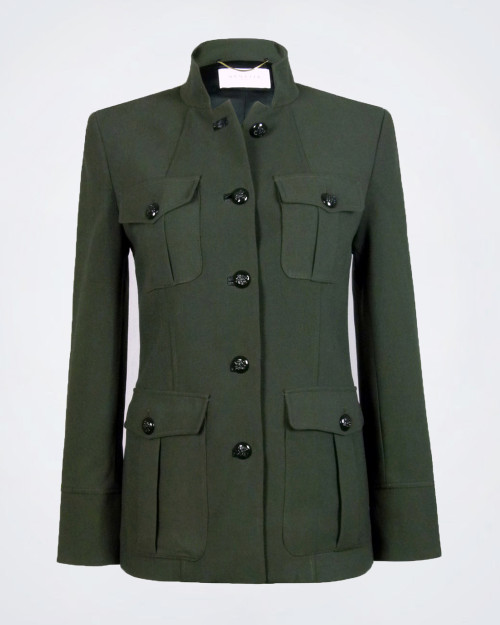 NENETTE Khaki Slim Fit Jacket