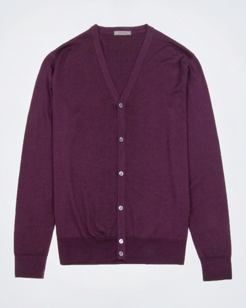 CORTINA Silk & Wool Blend Men's Cardigan