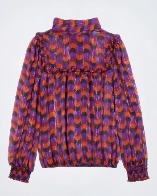 SFIZIO Multi Coloured Blouse