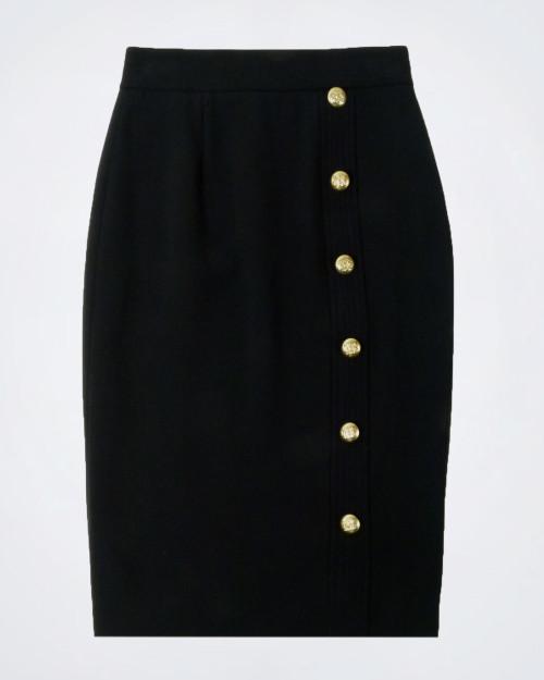 NENETTE Black Pencil Skirt
