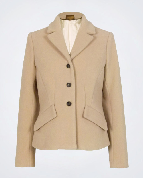 ALESSIA SANTI Single Breasted Wool Jacket