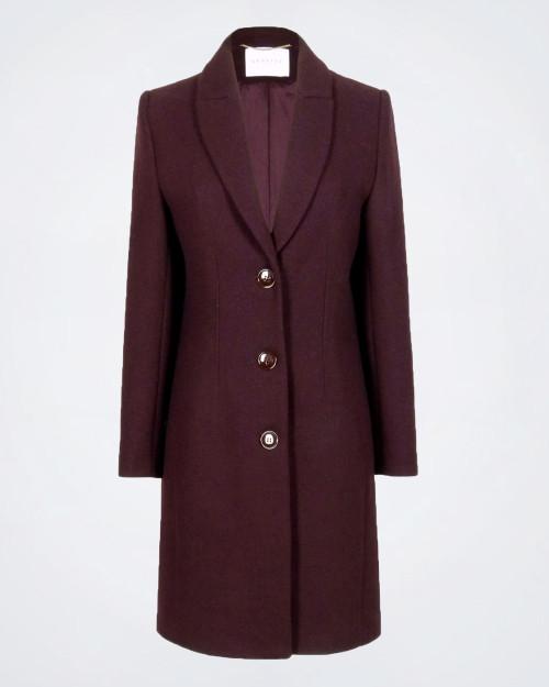 NENETTE Wool Blend Ladies Coat