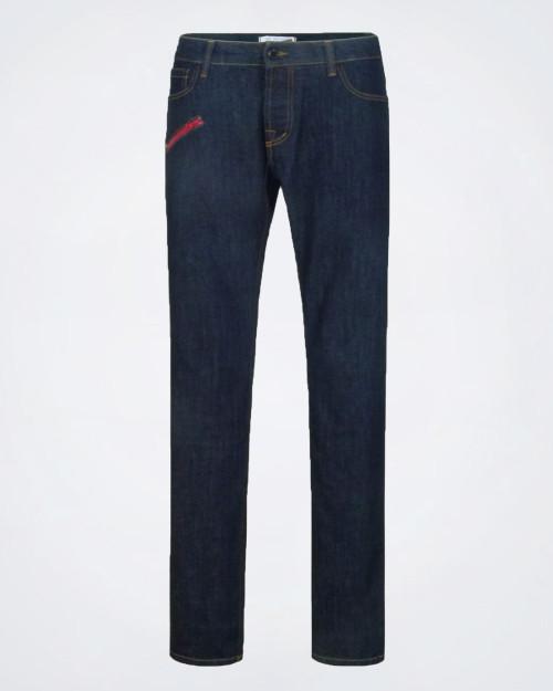 GF FERRE' Men's Dark Blue Denim Jeans