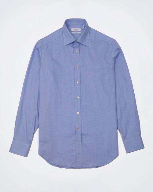 CAMICISSIMA Patterned Slim Fit Cotton Shirt