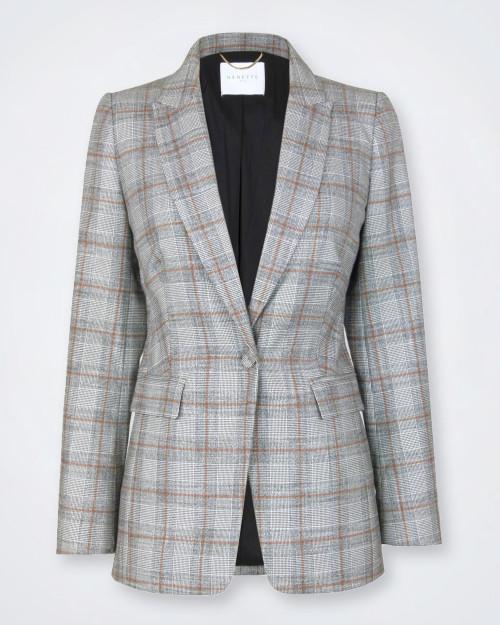 NENETTE Prince Of Wales Pattern Jacket
