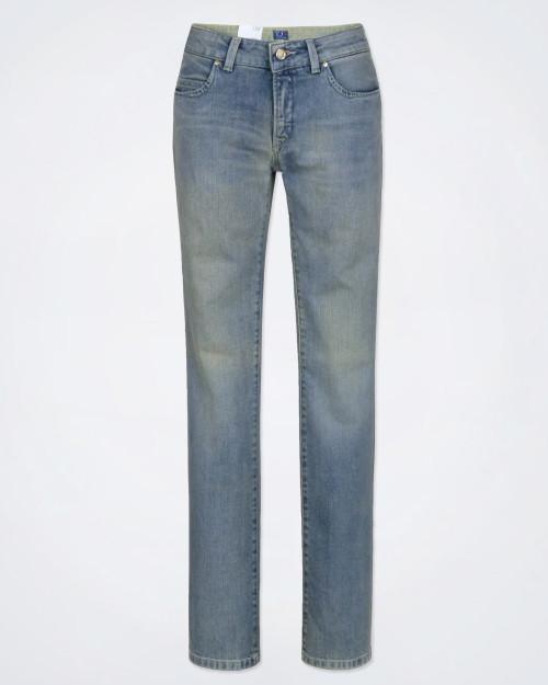 TRUSSARDI Ladies Faded Jeans