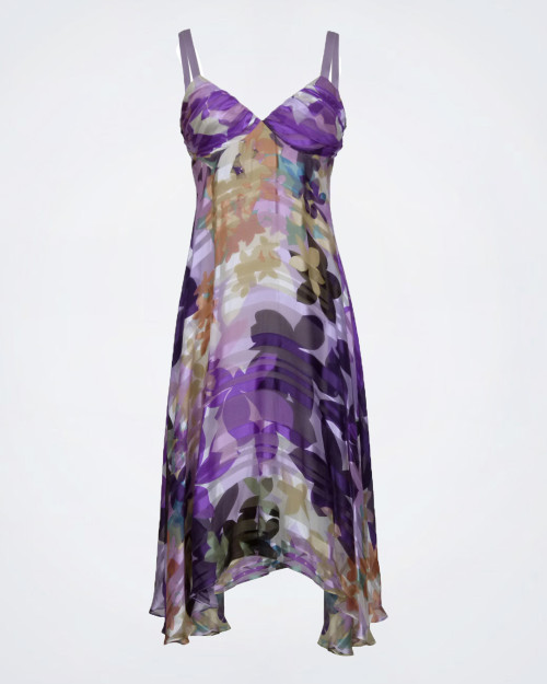 MAX MARA PIANOFORTE Silk Blend Dress