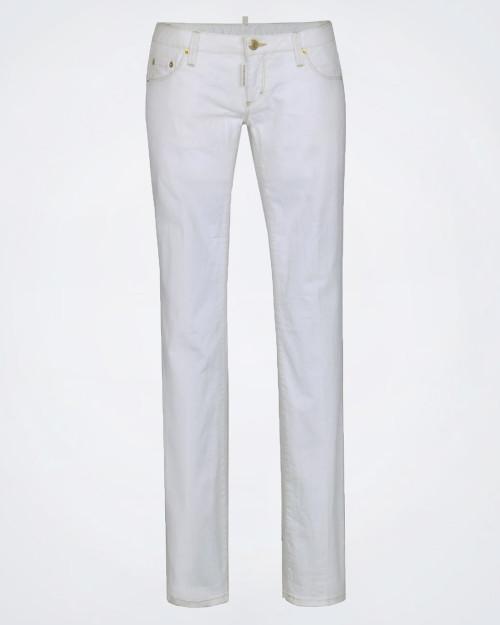 DSQUARED2 Ladies Ivory Jeans