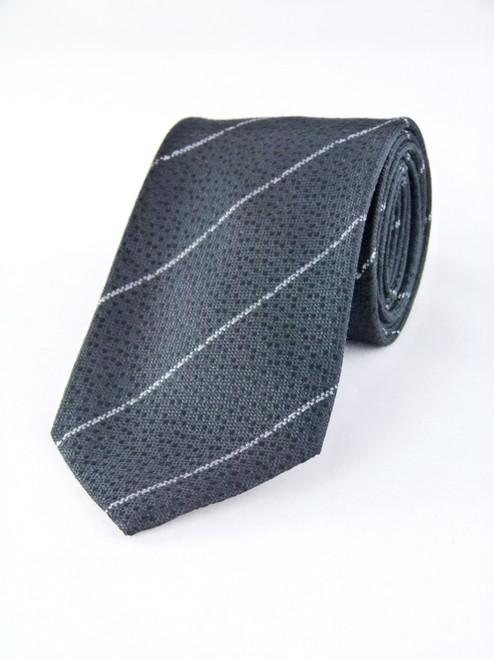 COSTUME NATIONAL Striped Silk Tie
