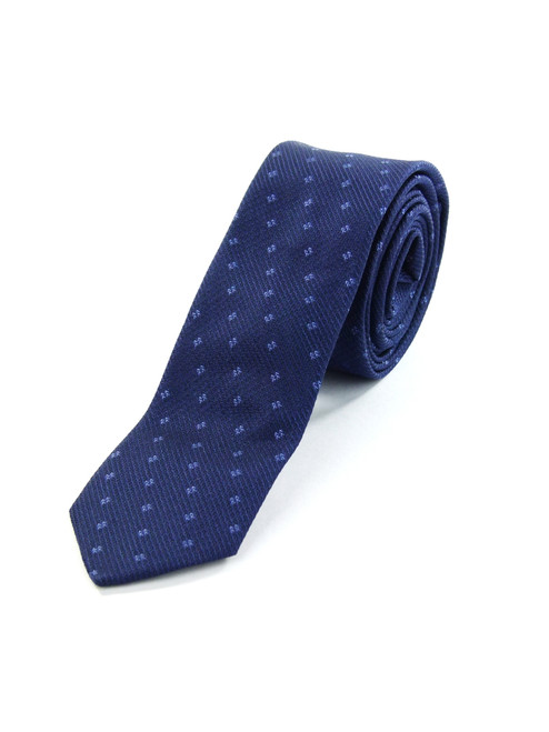 COSTUME NATIONAL Blue Silk Tie
