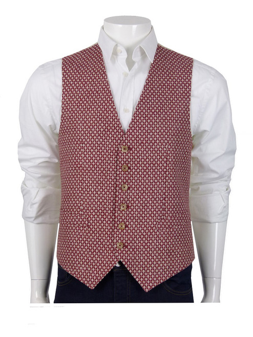 PAOLONI Single Breasted Vest
