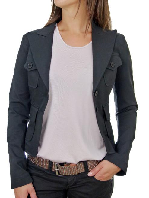 ALYSI Black Tailored Jacket
